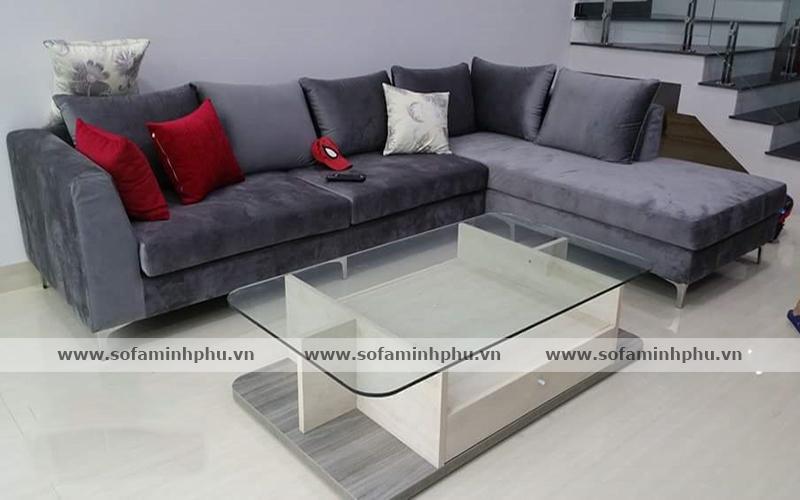 Bàn giao sofa nhà chị Hiền – Võ Thị Sáu