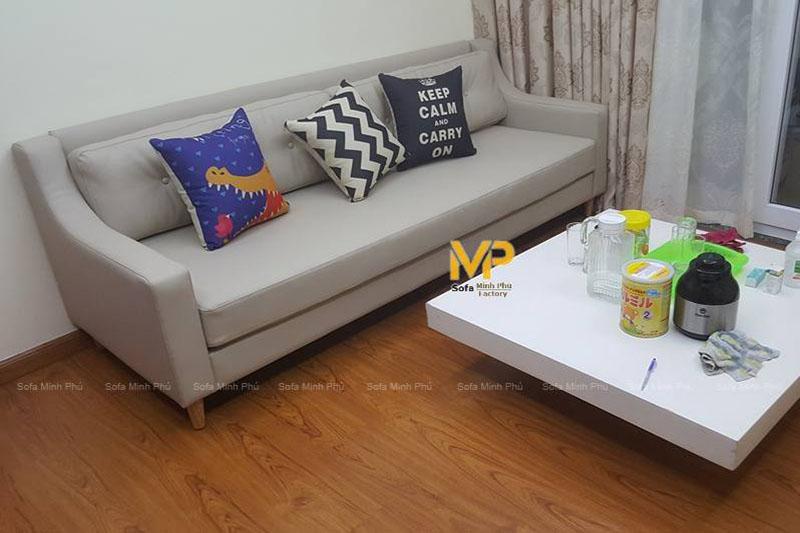 Bàn giao sofa nhà chị Trang –  Định Công