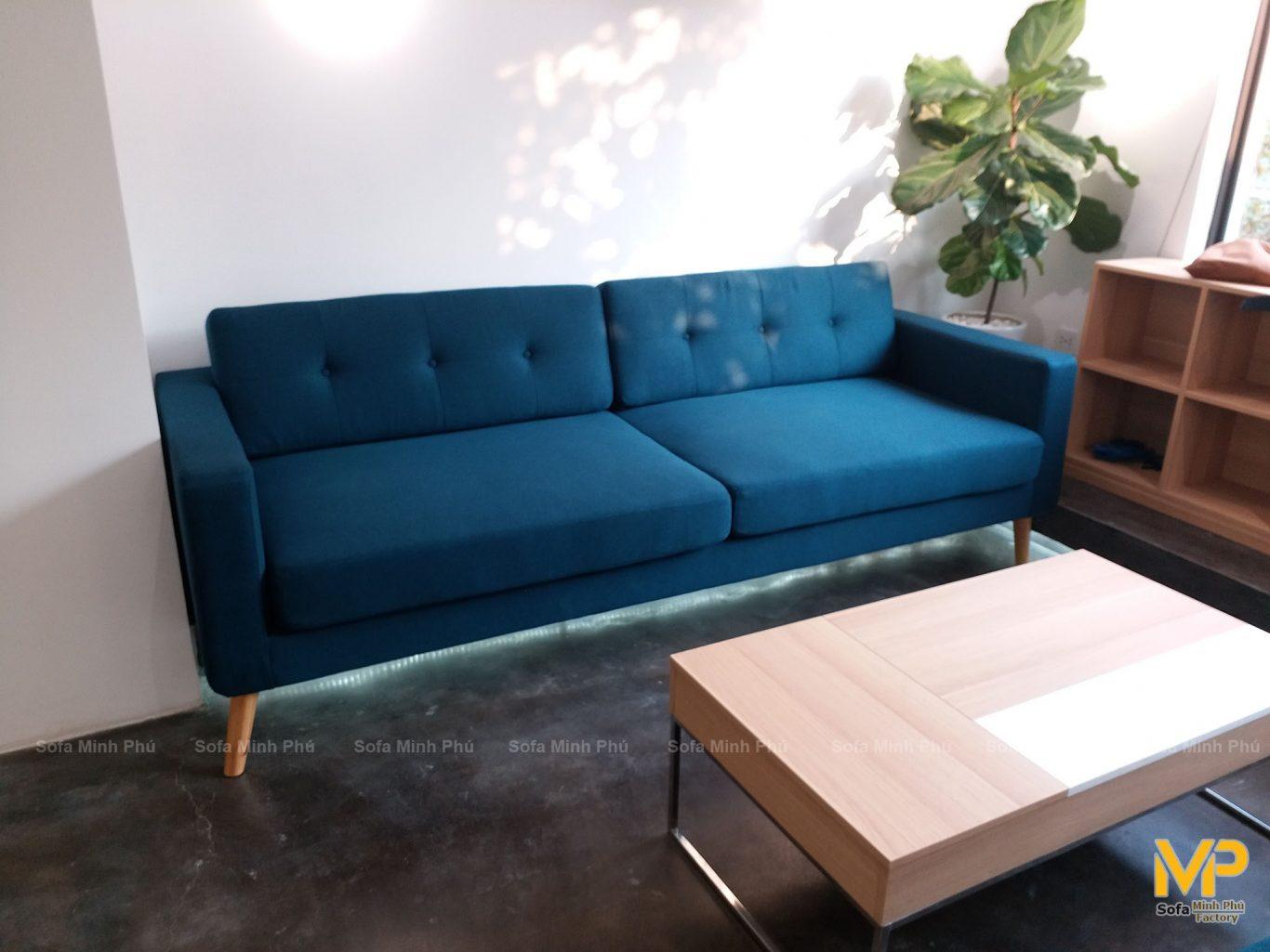 Sofa văng nỉ cao cấp bàn giao cho khách Nhật Bản