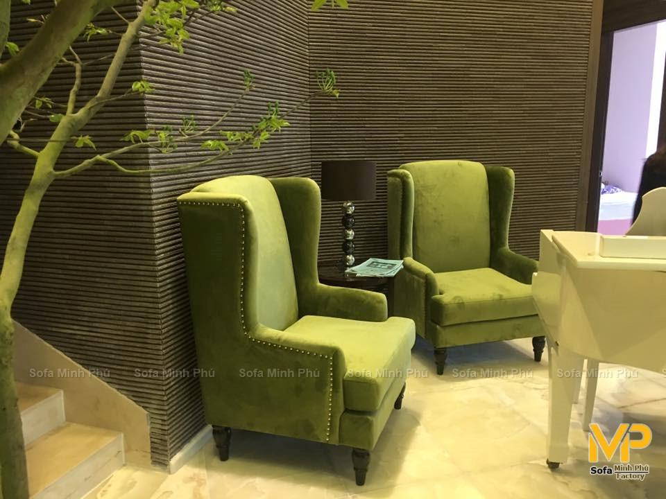 Bàn giao bộ đôi Armchair tại căn hộ penthouse Keangnam