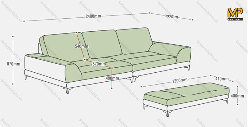 ghế sofa văng da cao cấp tại xưởng
