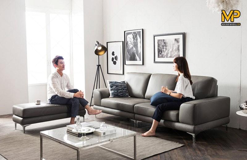 sofa văng da cao cấp giá tại xưởng