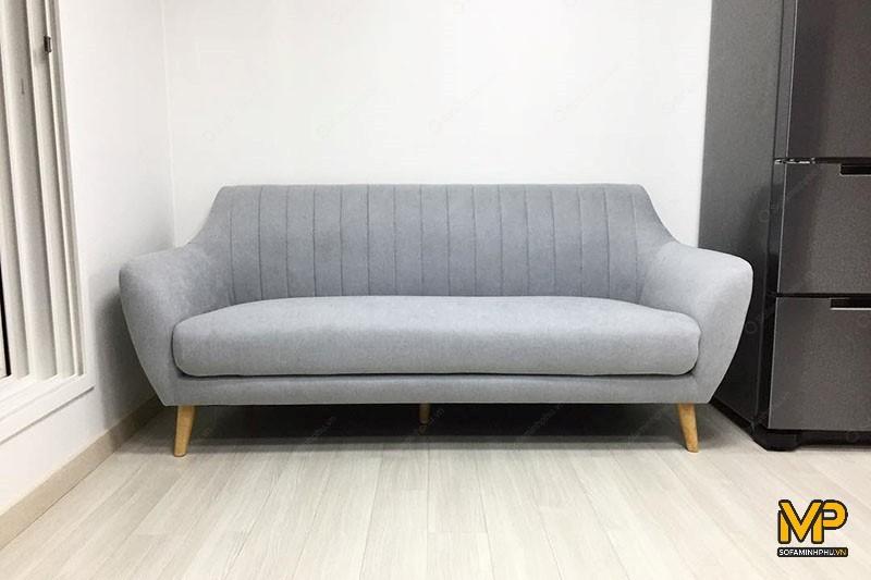 Sofa văng nỉ phong cách Bắc Âu