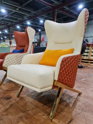 Ghế sofa amchair cao cấp bọc da AC139